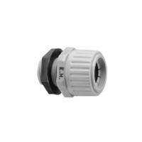 Clipsal Type 279C20EH Straight Gland, HFT, 20mm, Grey