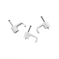 Cable Clip, Moulded, 4mmsq, Box of 100