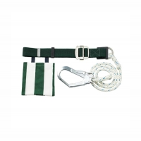 Safety Belt One D-ring, Large Double-Lock Hook