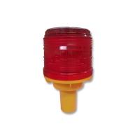 RED STEADY SOLAR WARNING LIGHT