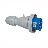 Straight plug P17 - IP 66per67 - 200per250 V_ - 16 A - 2P+E 56303